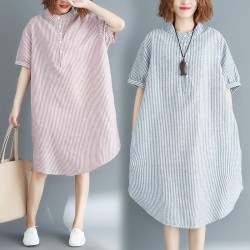 (F2909) 連身裙 (大碼款)
