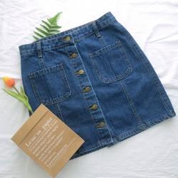 (NA1290) 牛仔半身裙
