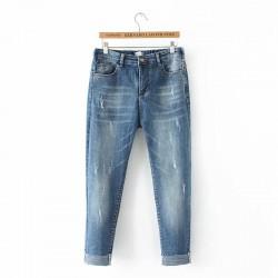 日系(WA6481) 牛仔褲  (大碼款)