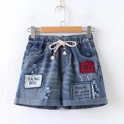日系(WA6487) 牛仔短褲