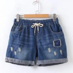 日系(WA6489) 牛仔短褲
