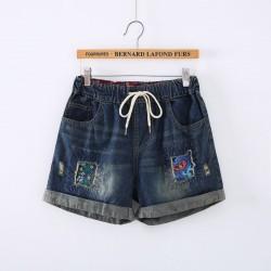 日系(WA6490) 牛仔短褲