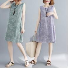 (F2459) 背心連身裙 (大碼款)