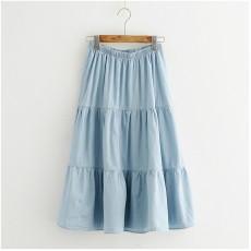 (JP8436) 牛仔半身裙