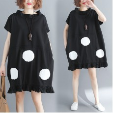 (F2438) 連身裙  (大碼款)