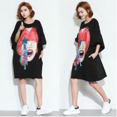 (F2420) 連身裙 (大碼款)