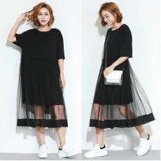 (F2422) 連身裙 (大碼款)