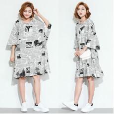 (F2423) 連身裙 (大碼款)