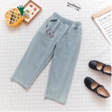 日系(WA6302)  貓  牛仔褲