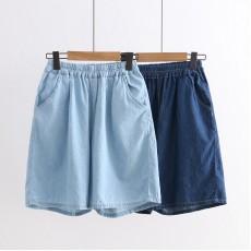 日系(WA6303) 牛仔短褲