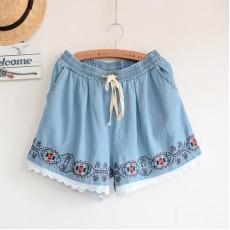 日系(WA6304) 牛仔短褲