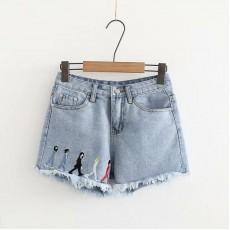 日系(WA6313) 牛仔短褲