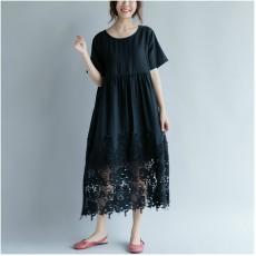 (F2407) 連身裙 (大碼款)