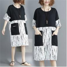 (F2414) 連身裙 (大碼款)