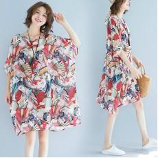 (F2382) 連身裙  (大碼款)