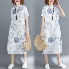 (現貨L碼)(F2332) 連身裙 (大碼款)