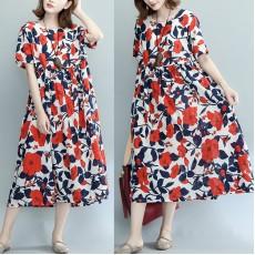 (現貨XL碼)(F2111) 連身裙 (大碼款)
