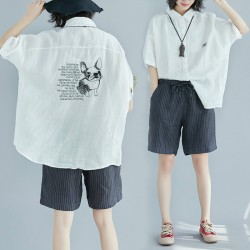 (F2055) 恤衫 (大碼款)