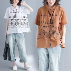 (F2058) 恤衫 (大碼款)