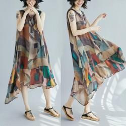 (F2059) 背心連身裙 (大碼款)
