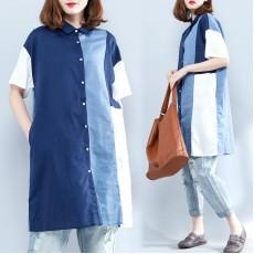 (現貨XXL碼)(F1771) 長款恤衫 (大碼款)