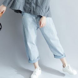 (F1522) 牛仔褲 (大碼款)