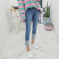 韓國直送gaenso 牛仔褲0322