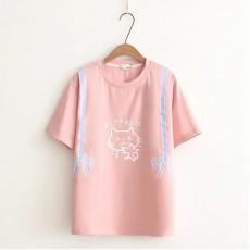 日系(WA5473)  貓  上衣