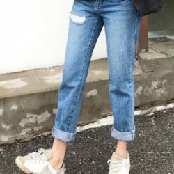韓國直送yozumgirls 牛仔褲0322