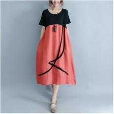 (F1516)  連身裙 (大碼款)
