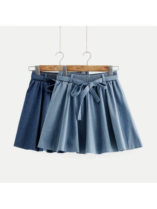(JP8098) 牛仔半身裙