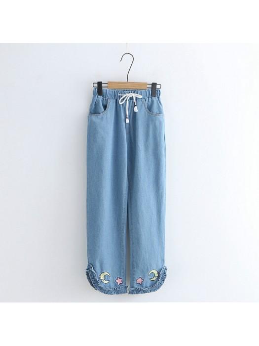 日系(WA5404)   牛仔褲