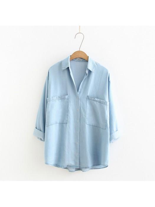 日系(WA5405)  牛仔恤衫